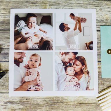 Tegels met foto om cadeau te geven
