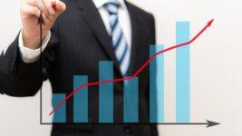 株価上昇イメージ