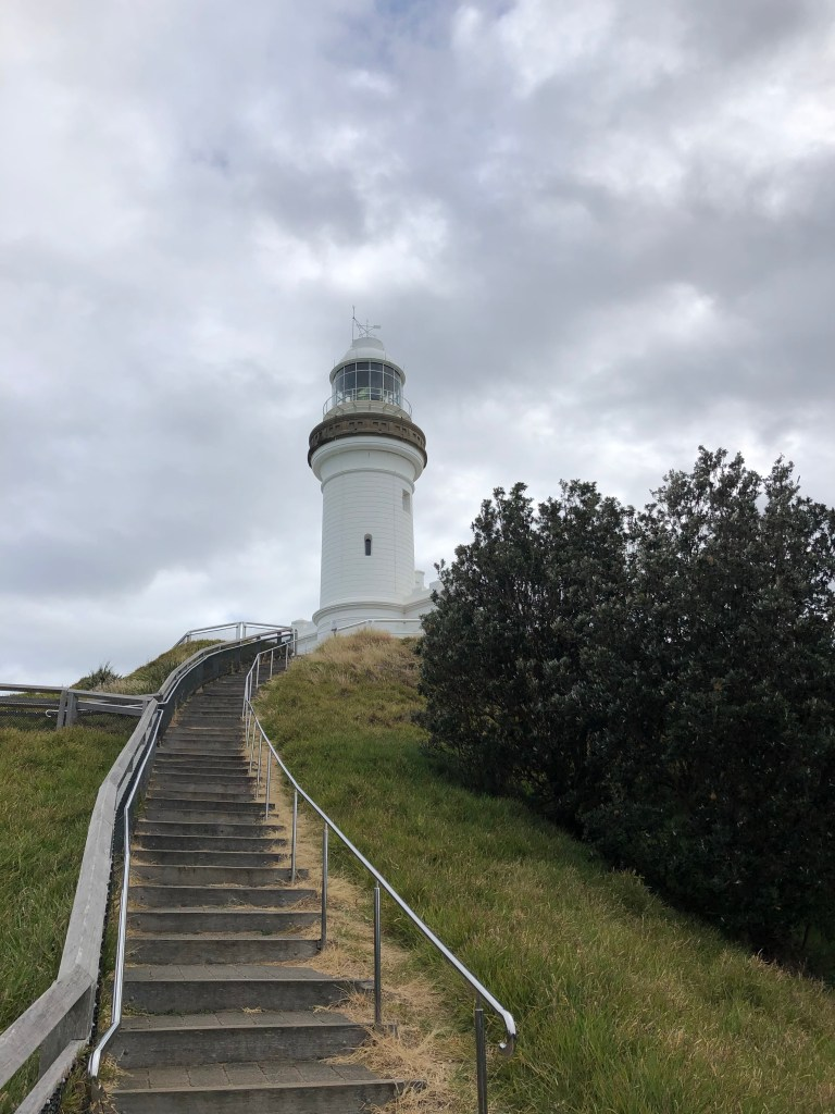 Lighthouse with stairs