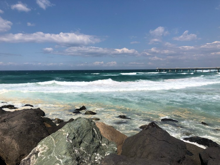 Ocean with rocks