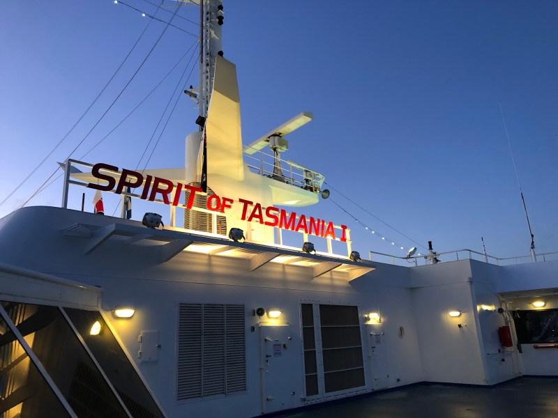 Spirit of Tasmania ferry boat