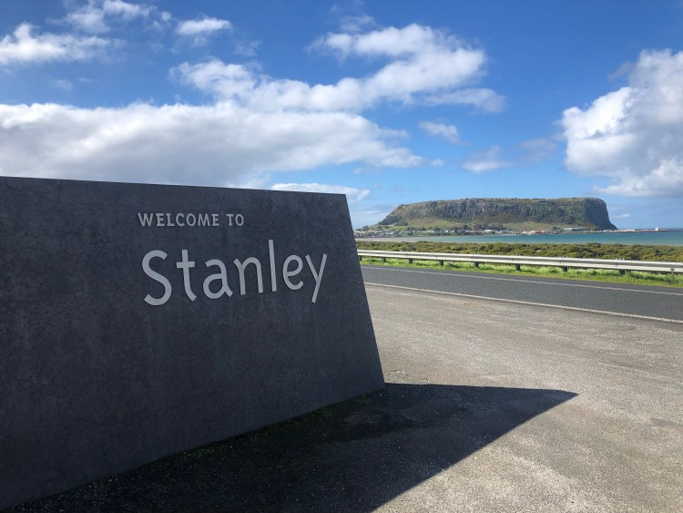 welcome to stanley sign