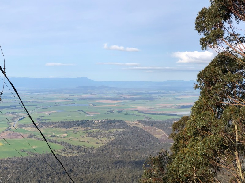 lookout from a mountain