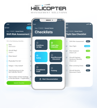 Helicopter Management System