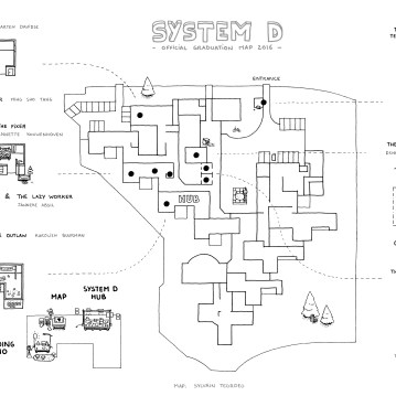 System D Academy Graduation Map