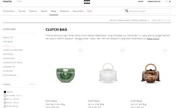Clutch bag premium untuk wanita