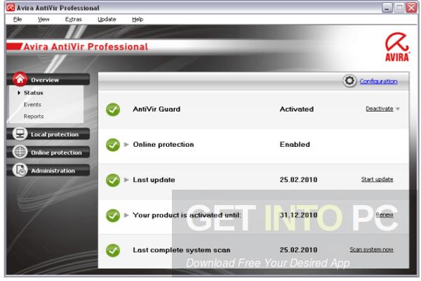 Download Gratis Avira Antivirus Pro 15.0.27.48 Final Full Key