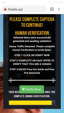 human verification firedia