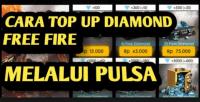 cara top up diamond ff lewat pulsa