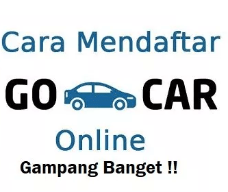 Cara Mendaftar Go Car