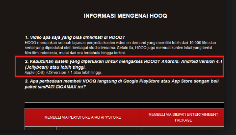 privacy police hooq di android