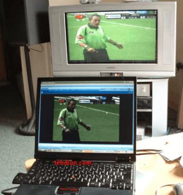 cara menghubungkan laptop ke tv