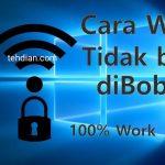 5 Cara agar Wifi Indihome tidak bisa di bobol