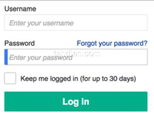 Menggunakan password yang kuat