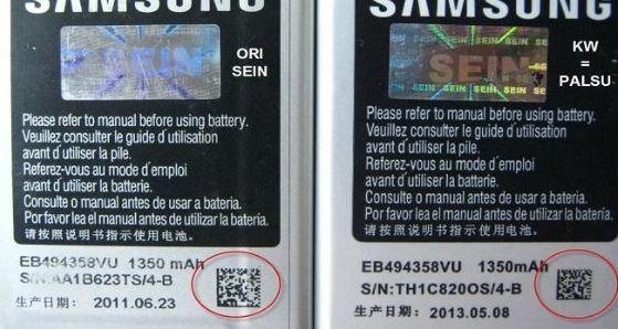 baterai hp android jelek