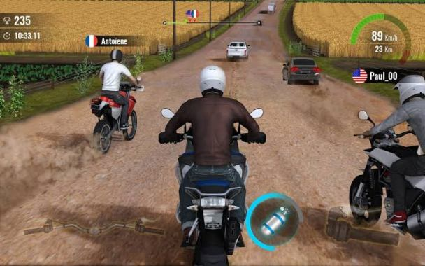 Moto traffic race 2 Android offline mod