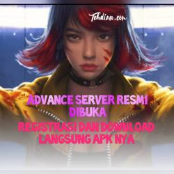 Download apk free fire advance Server