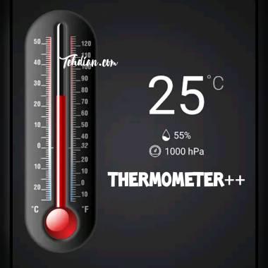 Aplikasi penghitung suhu tubuh Thermometer++