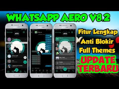 Whatsapp aero terbaru 2020 v8 22