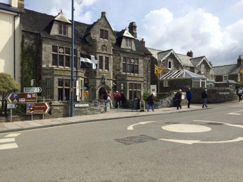 King Arthur's Great Halls, Tintagel village.