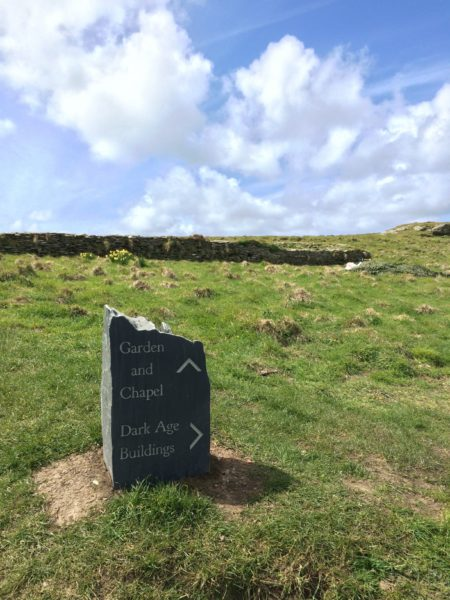 Places of power, denigrated by English Heritage as Dark Age at Tintagel.