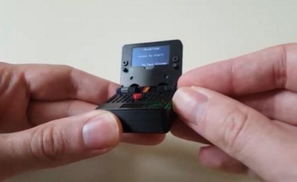 ThinkTiny – самый маленький в мире ноутбук с 0,96-дюймовым ...