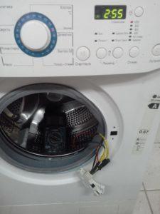 Ошибка dE на стиральной LG