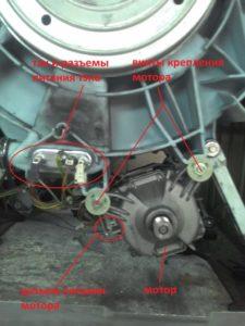 Двигатель стиральной Bosch