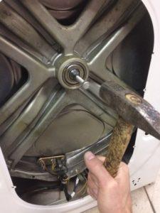 Как снять крестовину стиральной машины