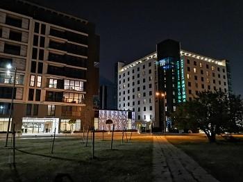 фото ночью на HUAWEI Mate 20