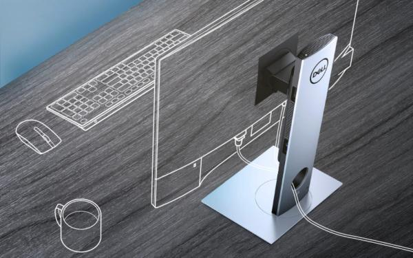 Ультрамодульный ПК Dell OptiPlex 7070 прячется внутри ...