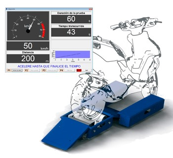 Uređaj za merenje brzine mopeda