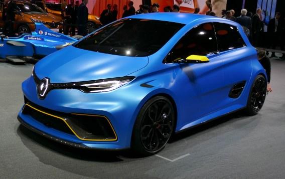Renault Zoe e-sport.