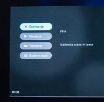 Z zadnjo nadgradnjo je bolj dostopno in izpostavljeno tudi snemanje programa na disk.