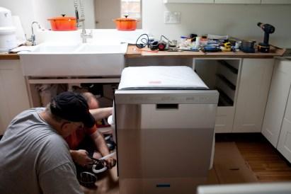 Установка посудомойки в Одессе