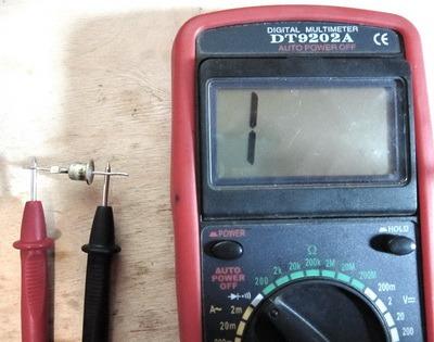 Proverea diodov multimetrom