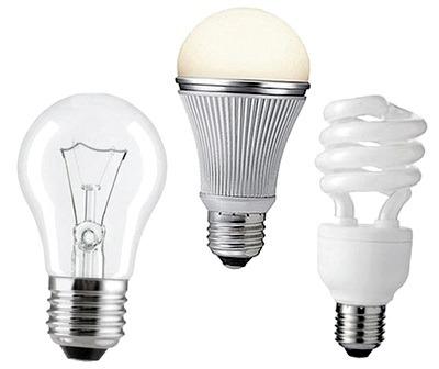 Лампы для освещения. Виды и работа. Применение и цоколи