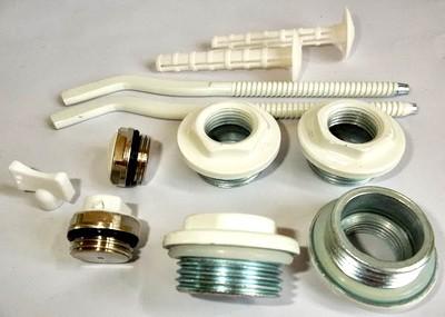 Комплектующие для радиаторов отопления. Монтаж и особенности