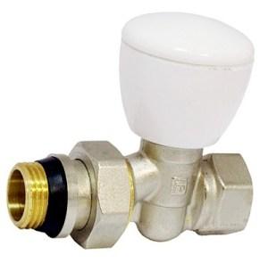 Komplektuiushchie dlia radiatorov otopleniia regulirovochnyi klapan