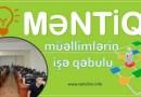 Müəllimlərin İşə Qəbulu üzrə MƏNTİQ test tapşırıqları 2017