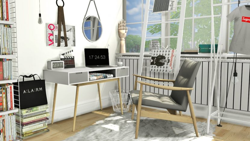 Isabella Office By MXIMS Teh Sims