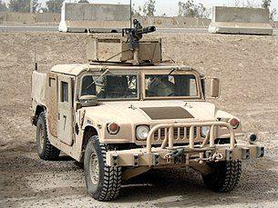 американский военный джип Хаммер