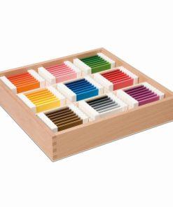 Third box of colour tablets - Nienhuis Montessori