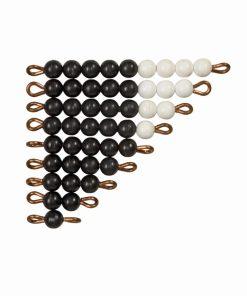 Black & white bead stairs - Nienhuis Montessori