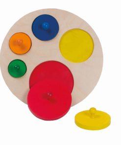 Giant circle puzzle - Educo