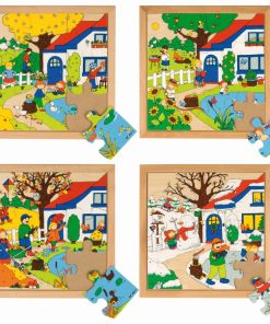 Seasons puzzles - Educo