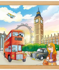 European cities puzzle: London - Educo
