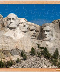 USA puzzle: the Mount Rushmore - Educo