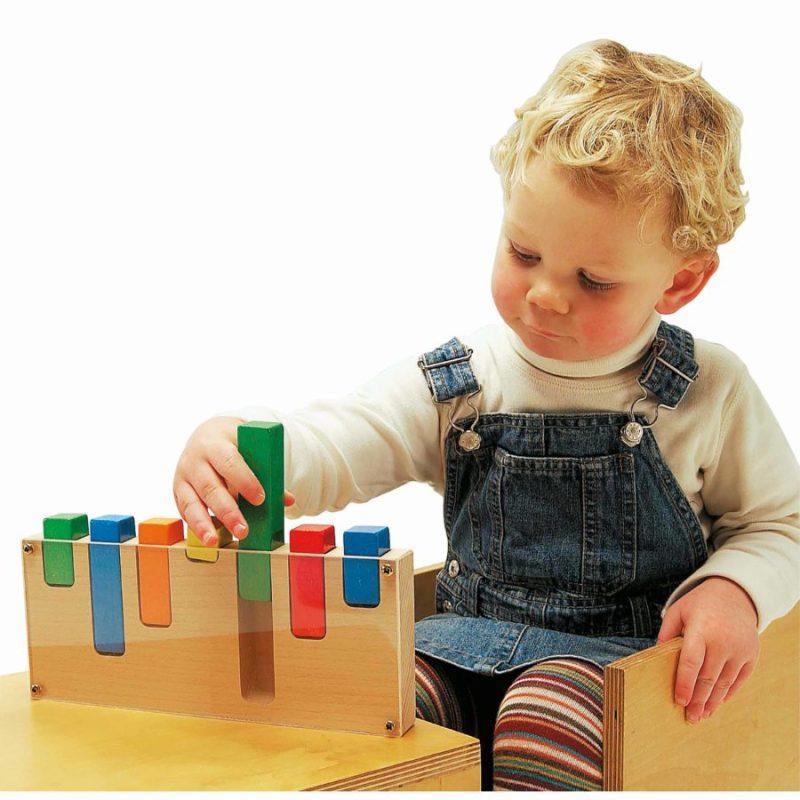 Sorting blocks - Educo