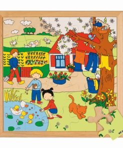 Seasons puzzle 2 - spring - Educo